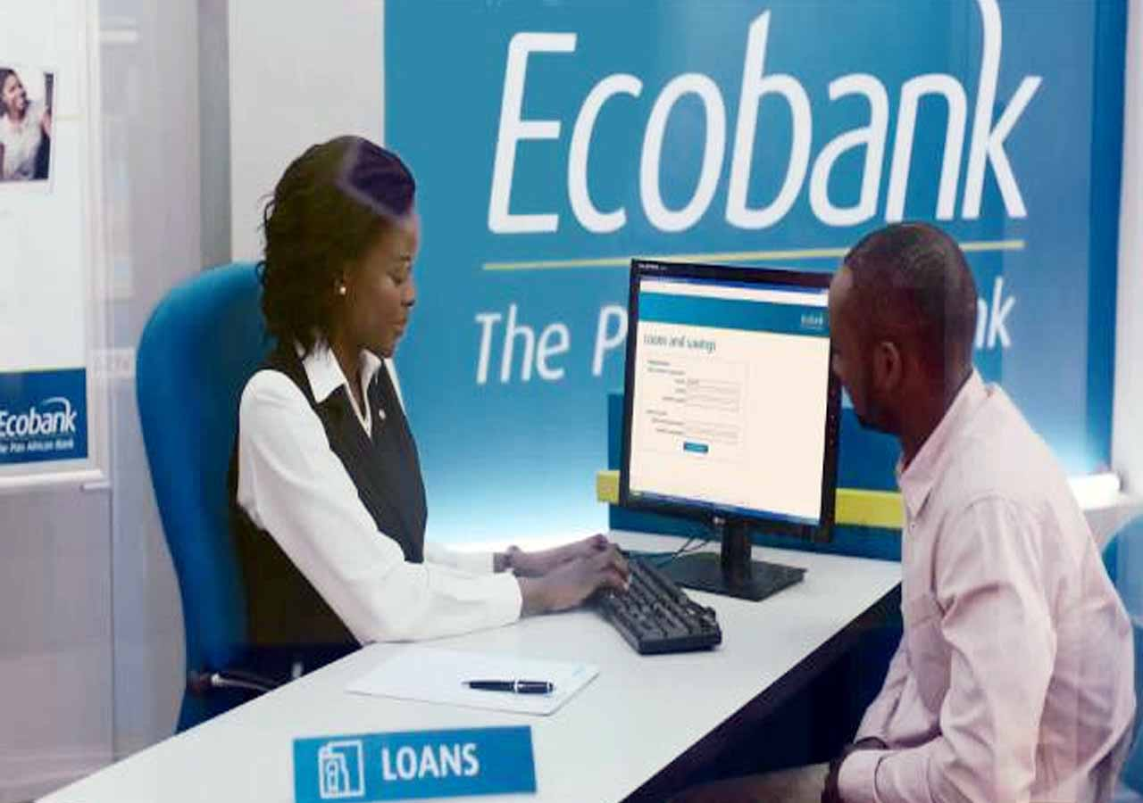 Rich results on Google's SERP when serching for 'ecobank'
