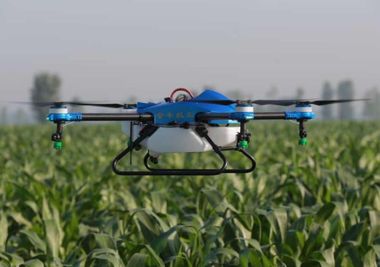Des résultats riches sur le SERP de Google lors de la recherche de « drone agricole »